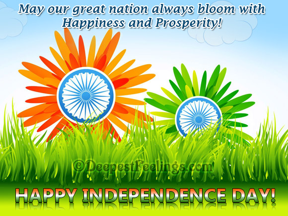 May our great nation always bloom...