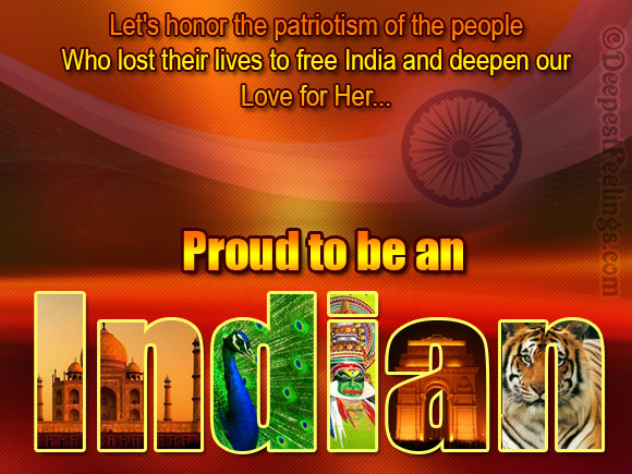 Proud to be an Indian!
