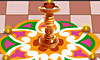 Its time for Rangolis on the pavement