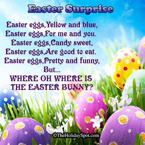 easter poems for kids - photo #12