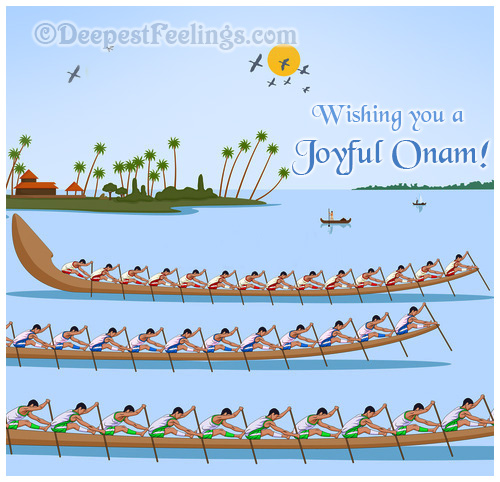 Greeting Cards For Onam