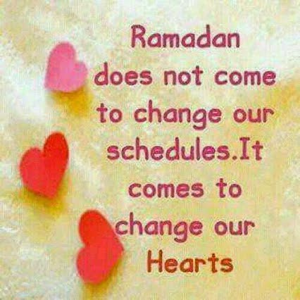 Ramadan message Card