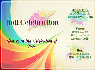 Formal invitation for holi gallery invitation sample and formal invitation for holi gallery invitation sample and formal invitation for holi image collections invitation sample stopboris Image collections