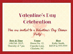 Deepestfeelings valentines day invitation cards login stopboris Image collections