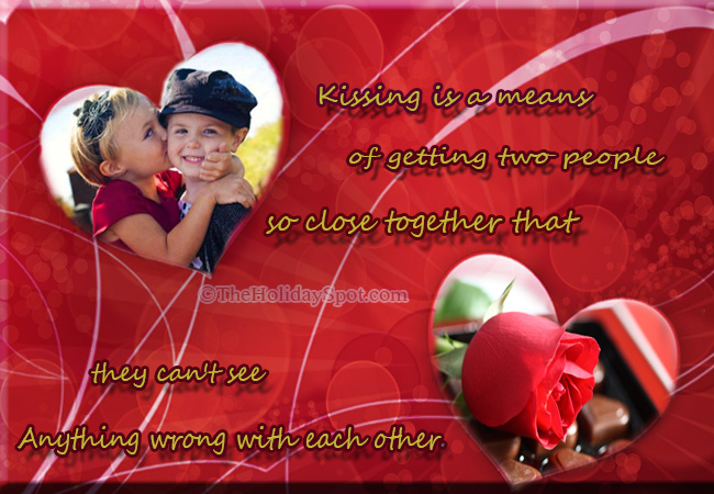 Kiss greeting cards kissing is a means of getting two people so close together m4hsunfo