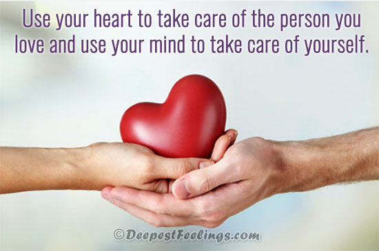 Love caring yourself quotes image