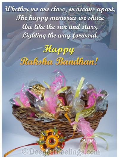 A bucket of wishes for Raksha Bandhan