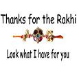 Thanks for the Rakhi Card...